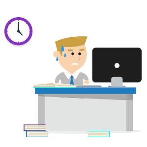 Cronogramas apertados e equipes demasiadamente enxutas podem gerar atrasos.